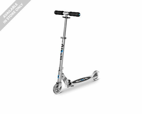 Micro Sprite Commuter Scooter | Silver - Thumbnail