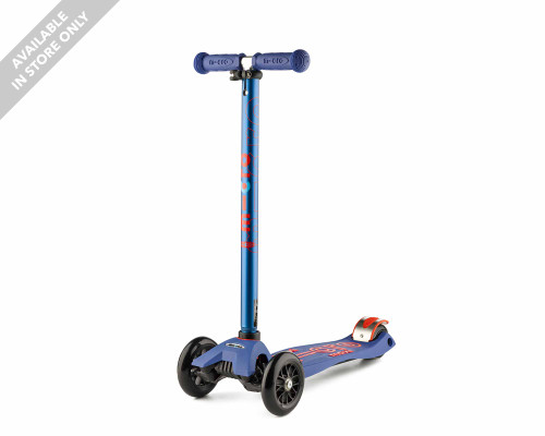 Micro 3-Wheel Scooter   Maxi Deluxe   Blue - Thumbnail