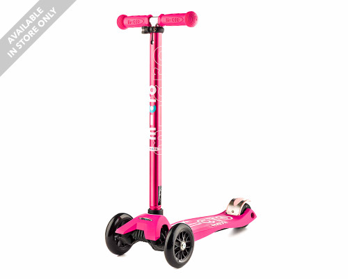 Micro Maxi Deluxe Kids 3-Wheel Scooter | Pink