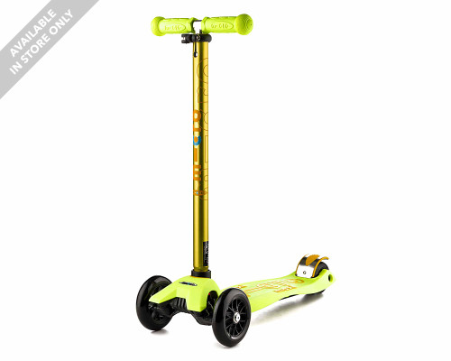 Micro Maxi Deluxe Kids 3-Wheel Scooter | Yellow