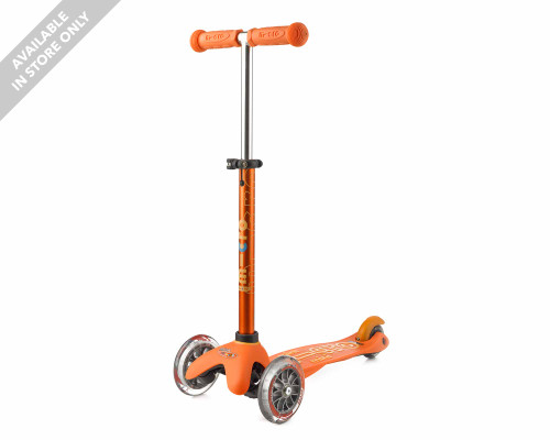 Micro 3-Wheel Scooter | Mini Deluxe | Orange - Thumbnail