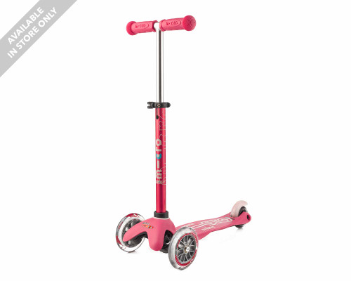 Micro 3-Wheel Scooter | Mini Deluxe | Pink - Thumbnail