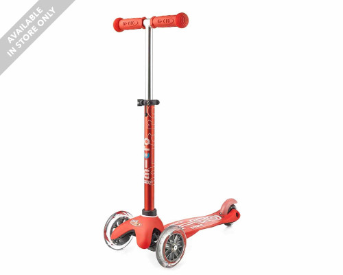 Micro Mini Deluxe Kids 3-Wheel Scooter | Red