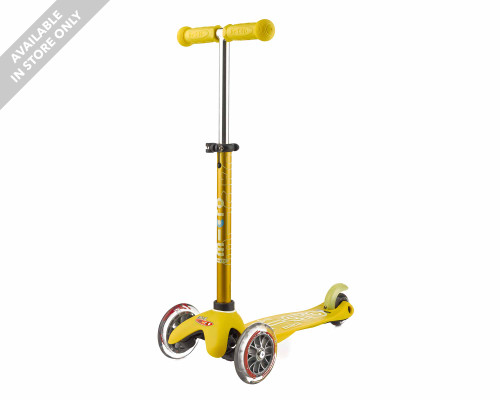 Micro 3-Wheel Scooter | Mini Deluxe | Yellow - Thumbnail