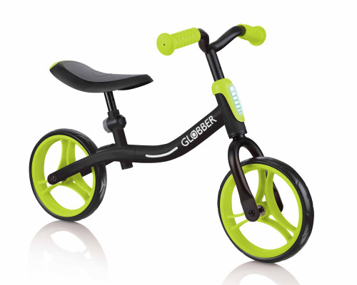 Globber GoBike Balance Bike | Black/Lime Green