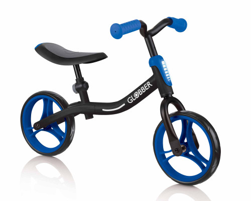 Globber GoBike Balance Bike | Black/Navy Blue