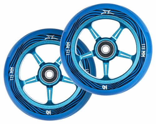 AO Pentacle Wheels | 30mm x 115mm | Fade Blue