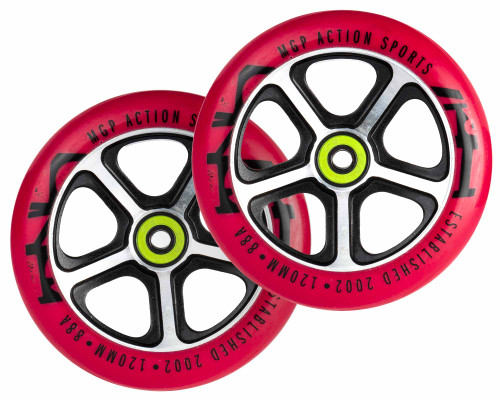 MGP | Wheels | 120mm | Filth | Red