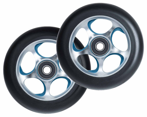 Root Industries Re-Entry Wheels | 24mm x 110mm | Black/Blue