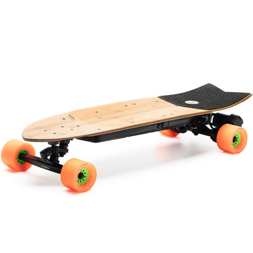 The Evolve STOKE Electric Skateboard Features Eco Friendly Bamboo and Fibreglass Construction