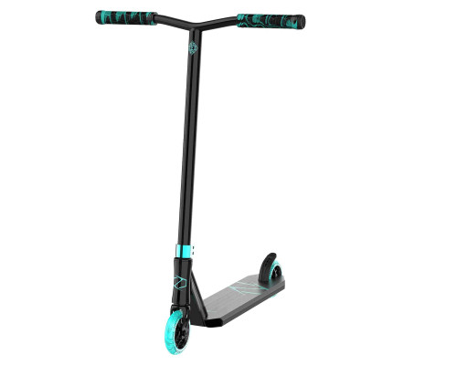 Fuzion Z250 Complete Scooter | Black/Teal