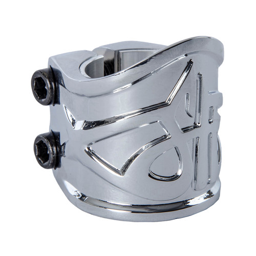 Scooter Hut DNA Double Clamp | Chrome