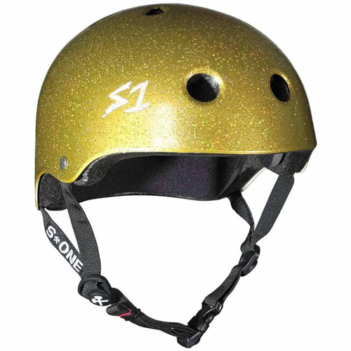 S1 LIFER Certified Helmet | Gold Glitter