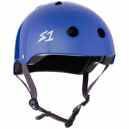 S1 LIFER Certified Helmet | LA Blue Gloss