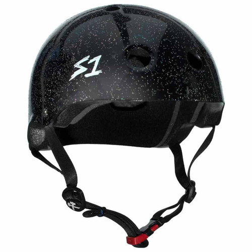 S1 MINI LIFER Certified Helmet | Black Glitter