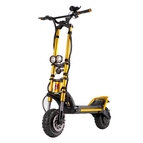 Kaabo WOLF KING 11 GOLD EDITION 72V Electric Scooter front
