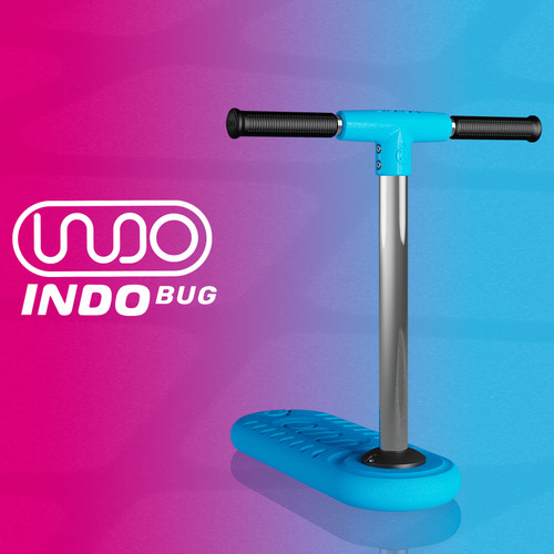 It's easier than ever for kids to practice fine motor skills, balance, first scooter tricks and more thanks to the 2021 INDO BUG Trampoline Trick Scooter at Scooter Hut.