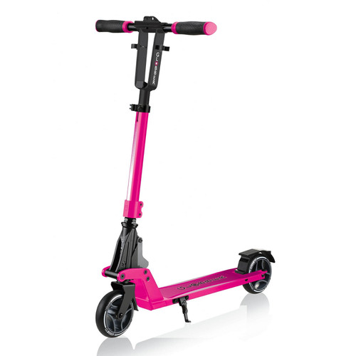 Kids and Teens Globber ONE K 125 Commuter Scooter | Deep Pink