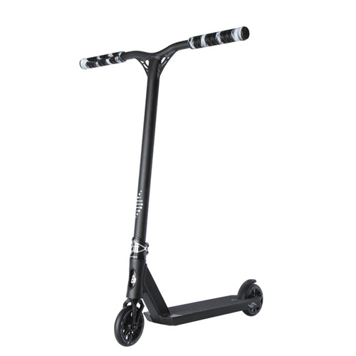 Scooter Hut DNA Custom Complete Scooter Black for Ages 8-12yrs