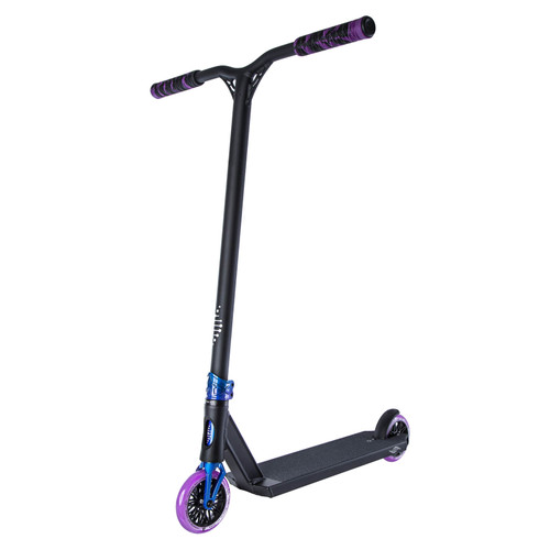 Scooter Hut DNA Custom Complete Scooter Black/Twilight for Ages Over 12yrs