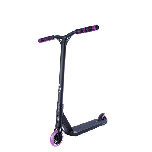 Scooter Hut DNA Custom Complete Scooter Black/Purple for Ages 4-8yrs