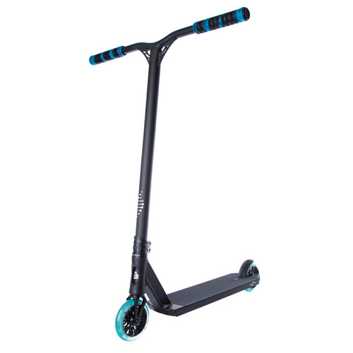 Scooter Hut DNA Custom Complete Scooter Black/Blue for Ages Over 12yrs