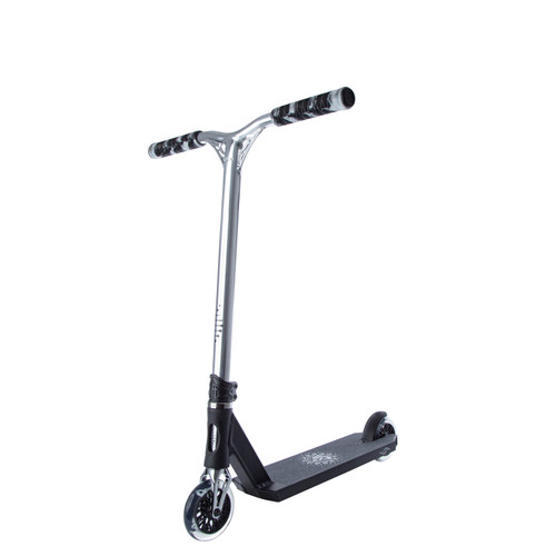 Scooter Hut DNA Custom Complete Scooter | Small | Black/Chrome