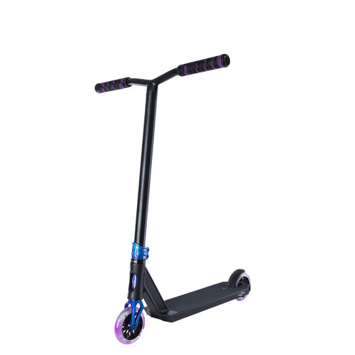 Scooter Hut DNA-Ti Custom Complete Scooter in Black/Twilight for Ages 4-8yrs