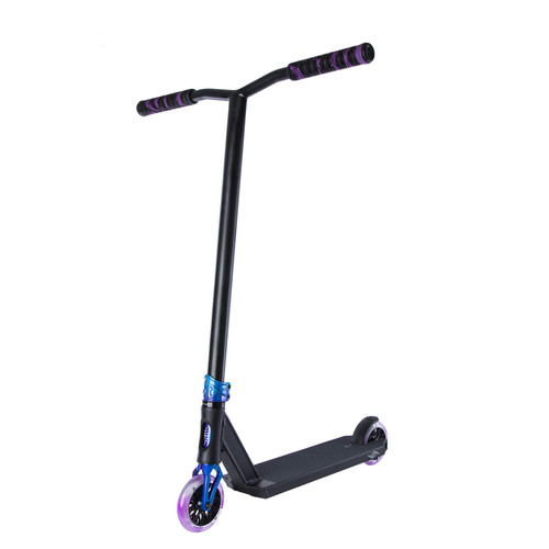 Scooter Hut DNA-Ti Custom Complete Scooter in Black/Twilight for Ages over 12yrs