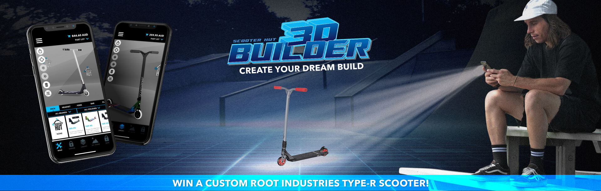 Download the 3D Bulider App To Win