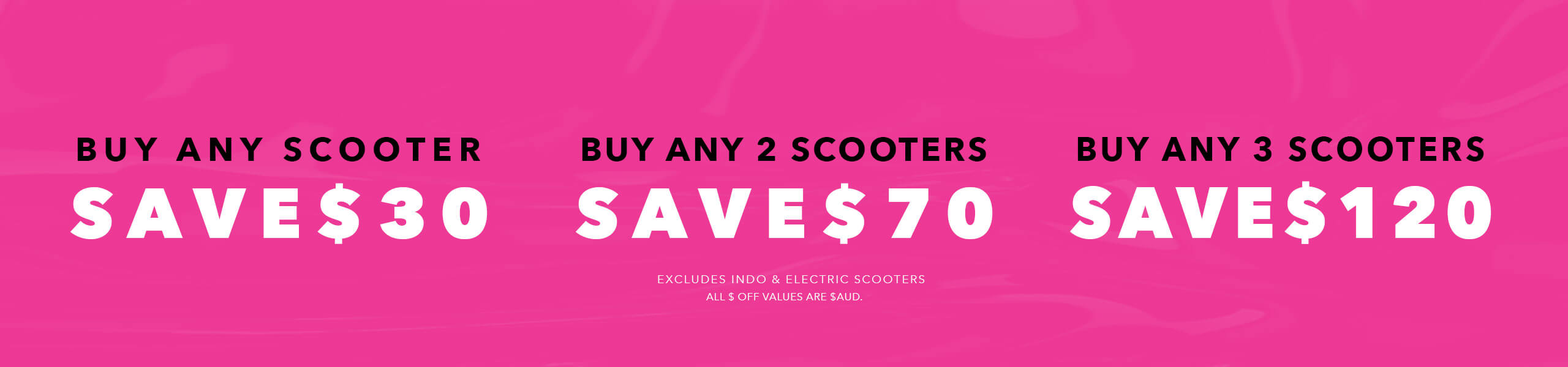 Black Friday Scooter Sale