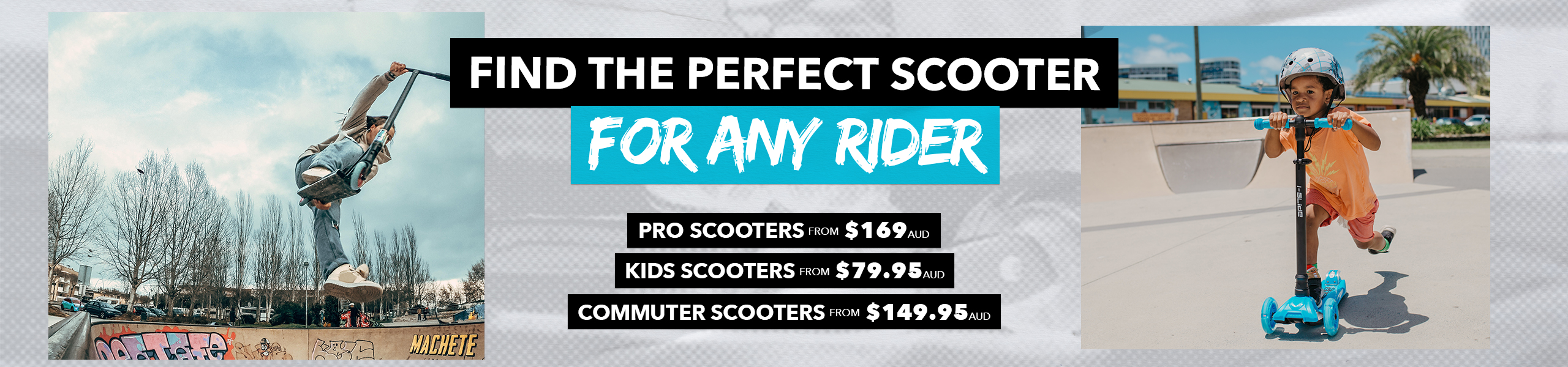 Shop Our Range of Complete Scooters