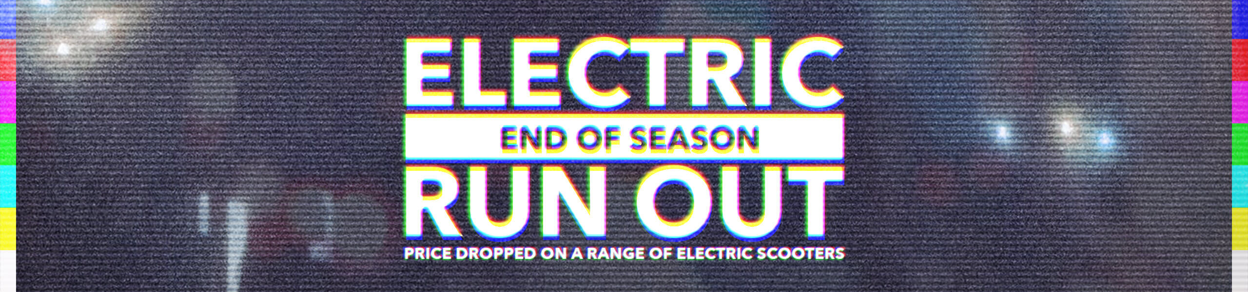 Electric Scooters Reduced