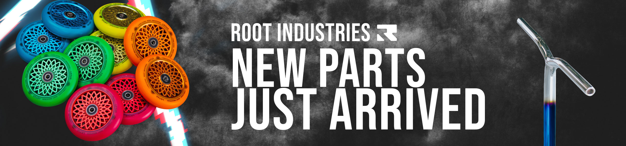 New Root Industries Parts Available Now