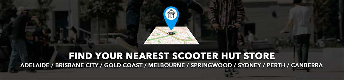 Scooter Hut Store locations