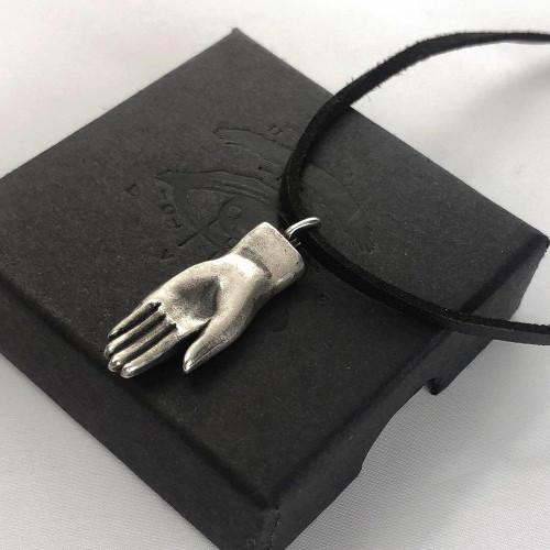 Hand Pendant - Bronze & Silver
