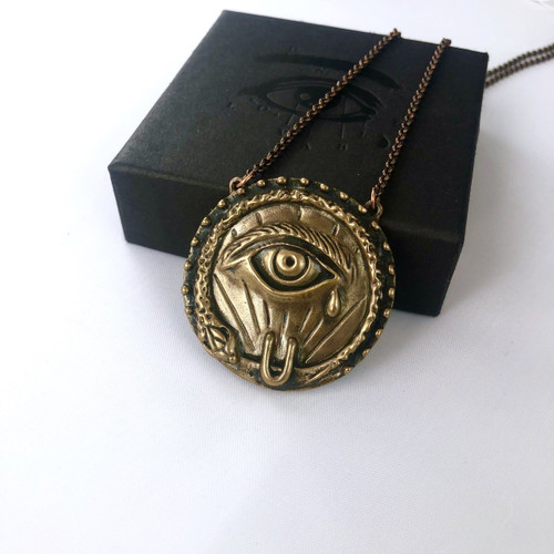 Secret Society Pendant - Bronze