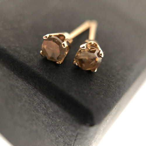 Vintage diamond earrings - Large