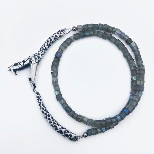 Ouroboros short strand - labradorite