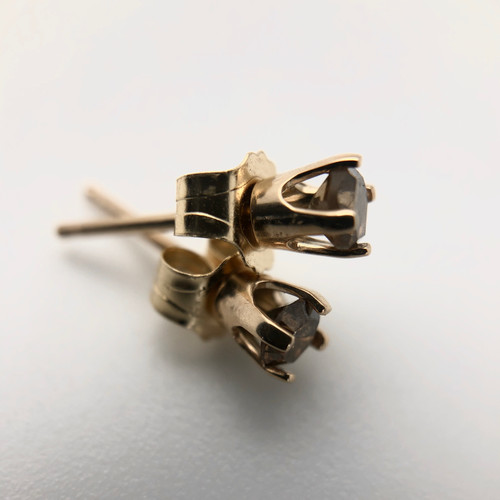 Vintage diamond earrings - Medium