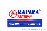Rapira Swedish Steel Double Edge (DE) Blades
