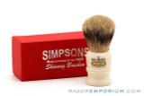 Simpsons The Duke 3 Best Badger Shaving Brush