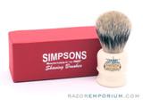 Simpsons Chubby 1 Best Badger Shaving Brush