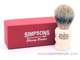Simpsons The Duke 2 Best Badger Shaving Brush
