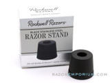 Rockwell Matte Black Stainless Steel Safety Razor Stand