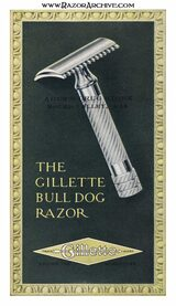 Razor Archive Series: Gillette Old Type Bulldog Safety Razor