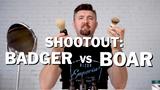 Wet Shave Showdown: Badger vs. Boar Shaving Brush