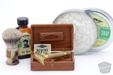 A Shave in History - 1920 Gillette Big Fellow Old Type / WSP Stubby / PAA King R. Emporium