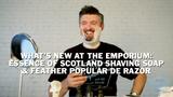 New At Razor Emporium: Essence Of Scotland - Highland Bothy Shaving Soap and Feather Popular DE Razor
