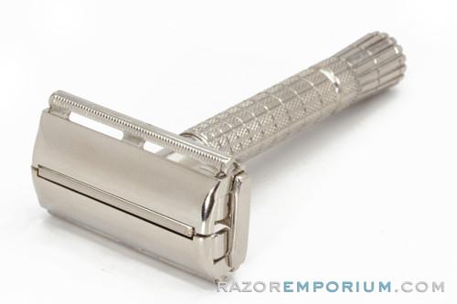 1960 F4 Gillette Flare Tip Super Speed Safety Razor// Nickel Revamp
